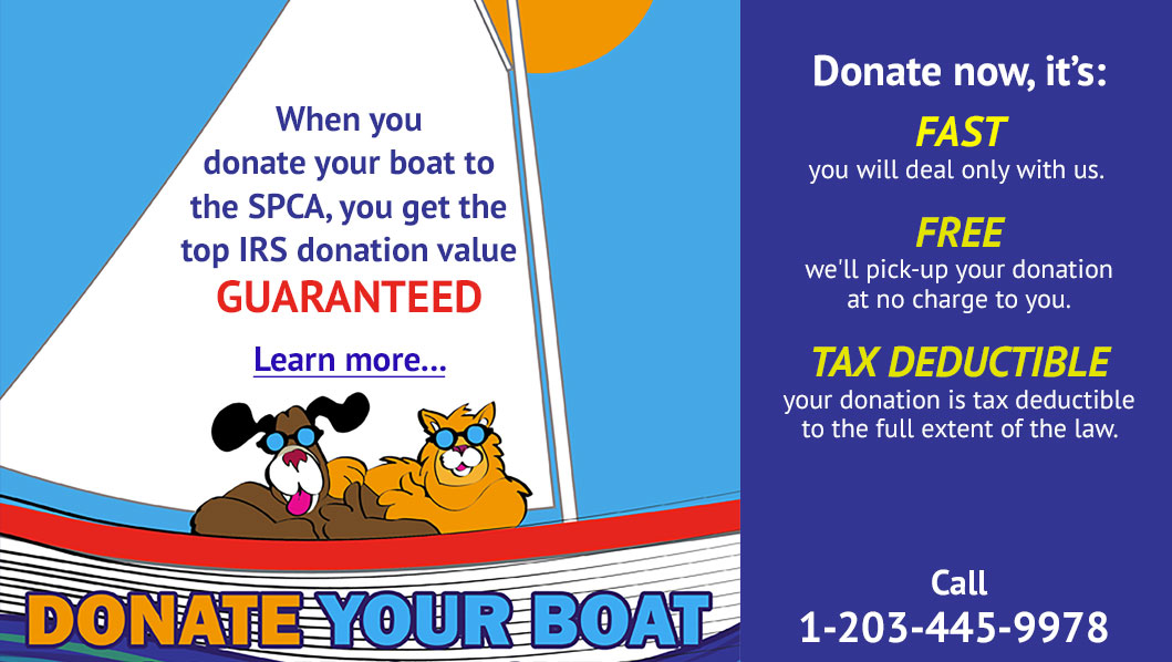 SPCA of CT: Donate your boat
